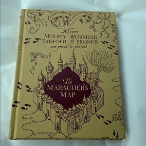 Exclusive Harry Potter Marauders Map Lined Journal